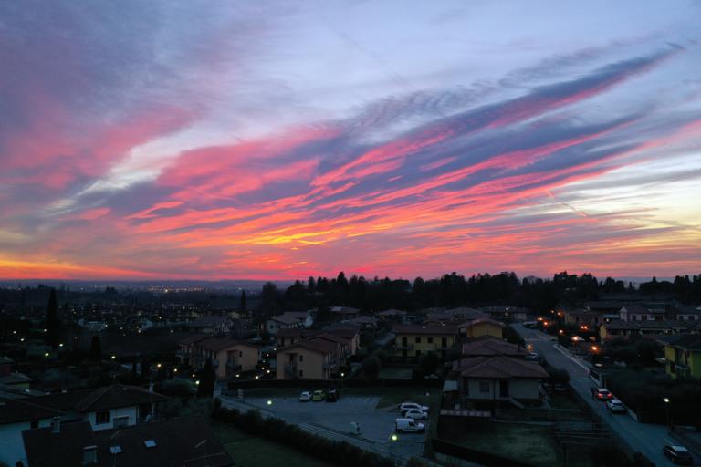 tramonto a cola